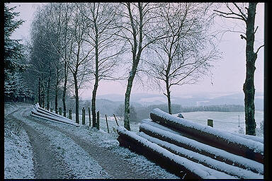Das Sauerland im Winter � Sauerland in Winter